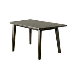 Abelone Rectangular Gray Dining Table