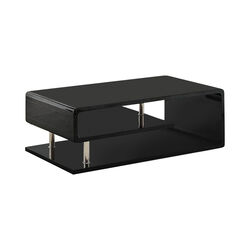 Ninove Contemporary Style Coffee Table, Black