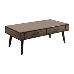 Vilhelm II Mid-Century Modern Coffee Table In Gray