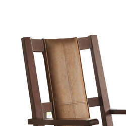 Butsea Wooden Rocking Chair, Brown