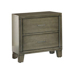 5 Drawer Wooden Chest with Cabriole Legs and Round Knobs, Antique White