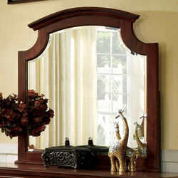 Gabrielle II European Style Cherry Finish Mirror