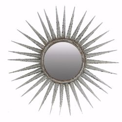 Distressed Sun inspired Mirror