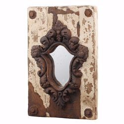 Elegant Old style Acantha Wall Mirror