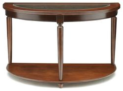 Granvia Traditional Sofa Table, Dark Cherry