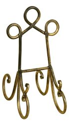 Gold Metal Cook Book Easel