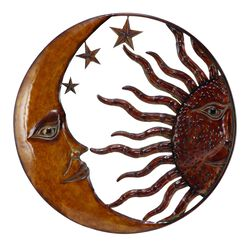 Sun & Moon Wall Decor, Metal