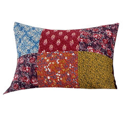 20x26 Reversible Standard Sham with Patch Work, Multicolor - BM223407