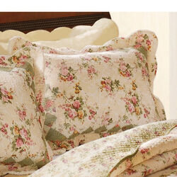 Denali Fabric Standard Size Sham with Floral Prints, Multicolor