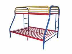 Tritan Twin/Full Bunk Bed, Rainbow
