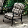 Fernanda Transitional Chair, Antique Black, Set Of 2
