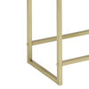 Astonishing Side Table, White & Gold