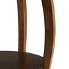 Amiable Side Table, Walnut brown