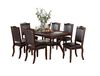 Rubber Wood Dining Table, Espresso