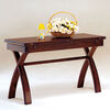 Kingston Transitional Style Console Table, Cherry