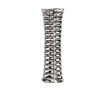 StylishDecorative Ceramic Vase With Cutouts, Silver