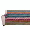 Polyester Loveseat Protector with Tribal Print, Multicolor