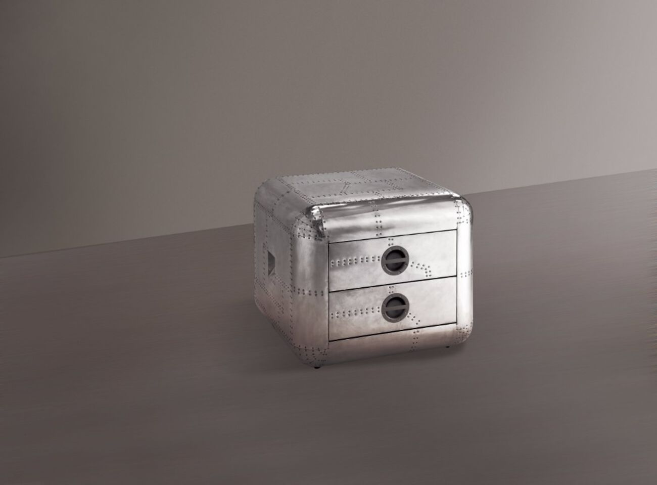 Brancaster End Table, Aluminum