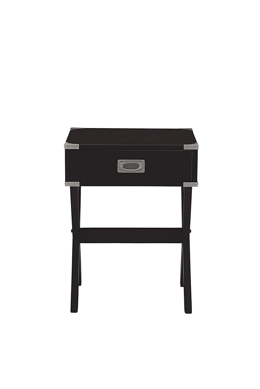 Babs End Table, Black