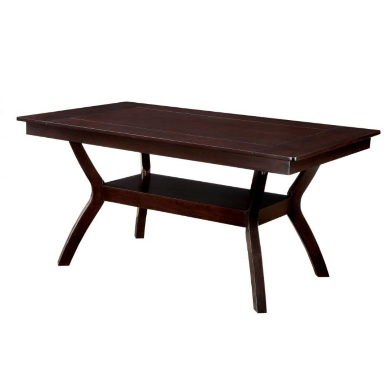 Dining Table, Dark Cherry Brown