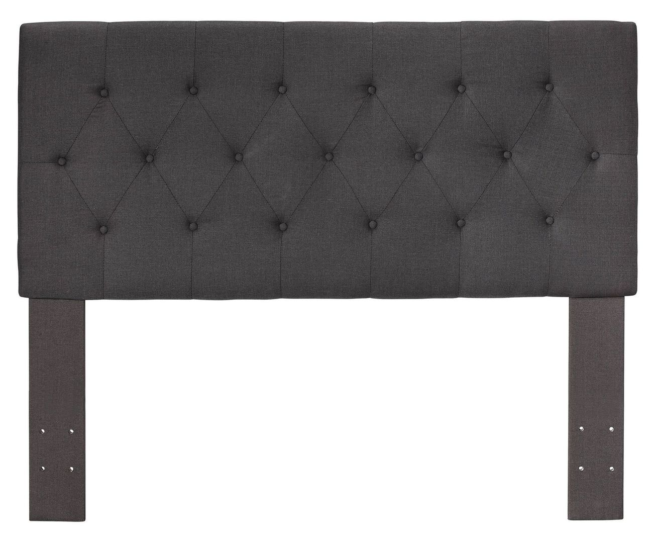 Lerroy II Contemporary Headboard, Gray