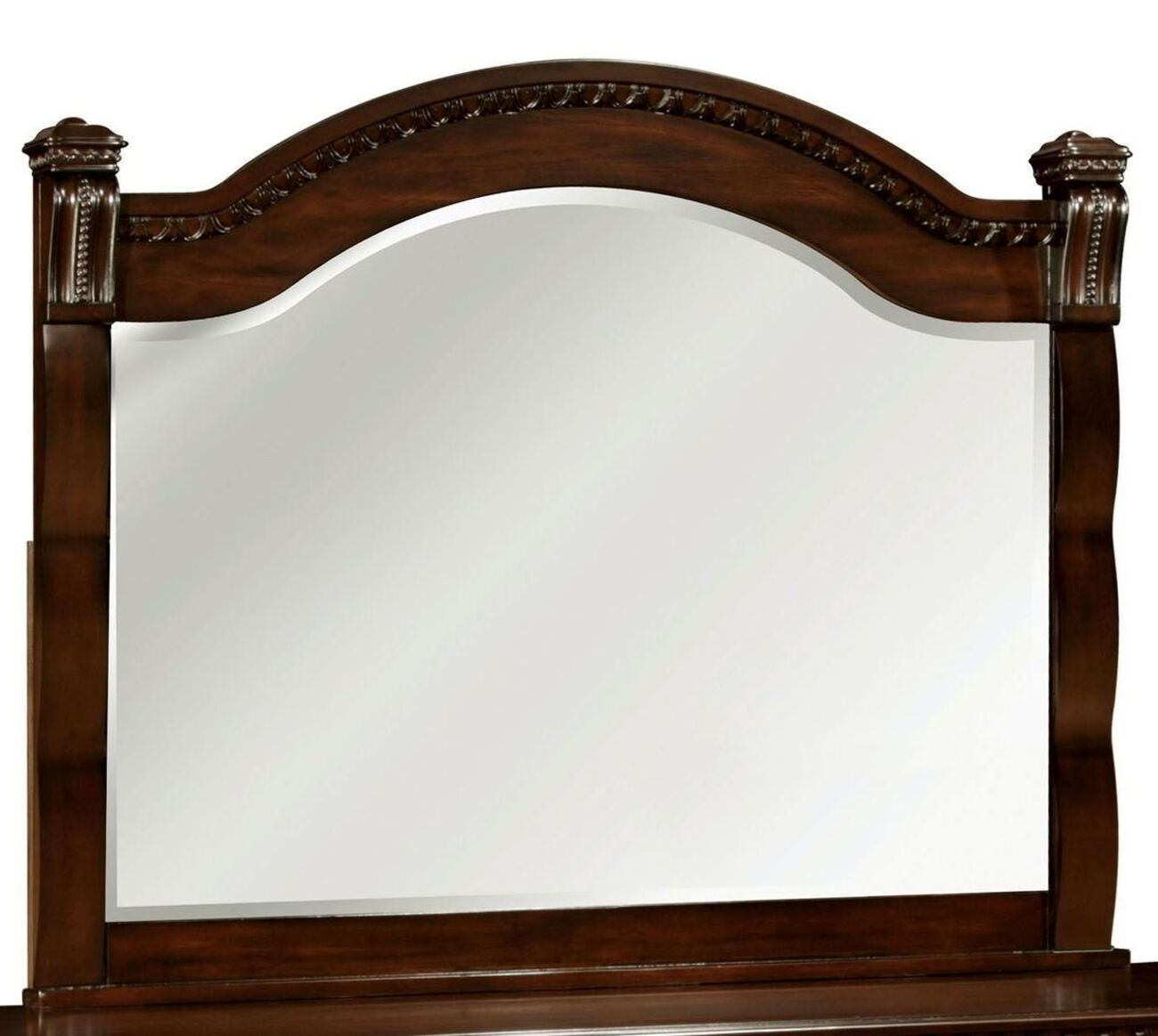 Burleigh Transitional Style Mirror , Cherry