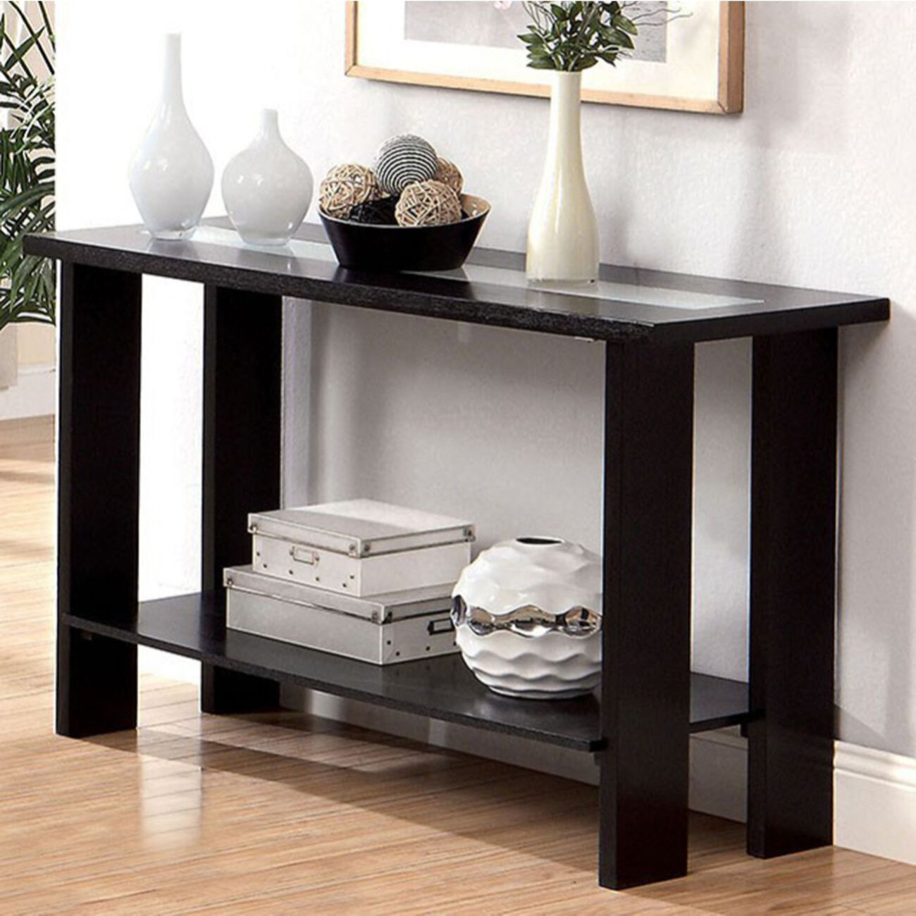 Luminar II Contemporary Style Sofa Table