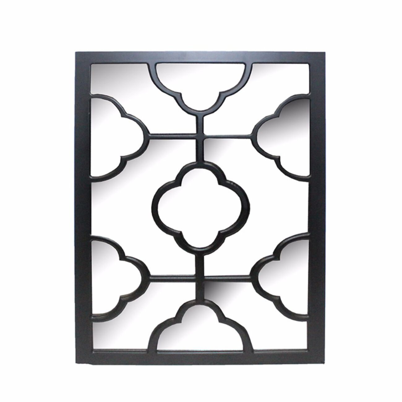 Elegantly Charmed Wooden WallDecor, Black