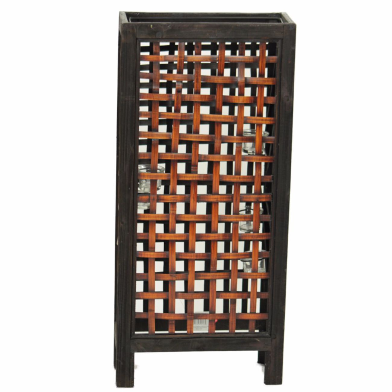 Bamboo Lantern, Brown