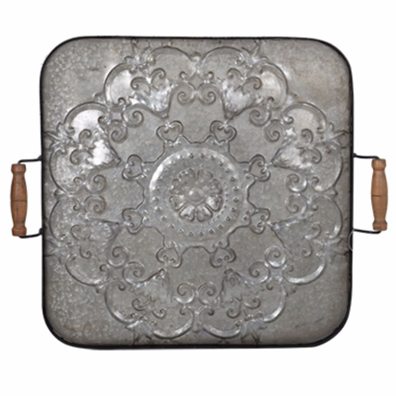 Classic Fashioned Ravello Tray, Square